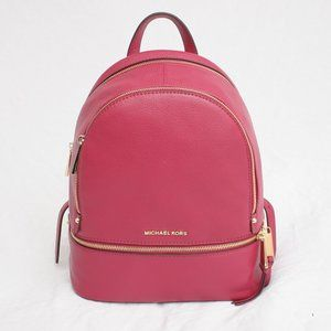 MICHAEL KORS Rhea Zip MD Backpack Berry